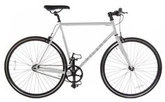 Fixed Gear Single Speed Track Bike, White, 50cm.    List Price:$400.00  Buy New:$260.51  You Save:35%  Deal by: CyclingShoppers.com