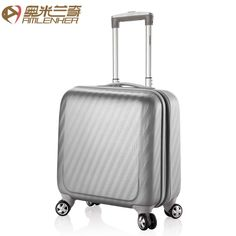 16 universal wheels trolley luggage travel bag commercial scrub tourism bags female luggage,blue luggage,grey luggage,smart box