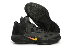buy popular 4a84f 638ba Nike Zoom Hyperfuse 2011 Black Yellow Gold Top, Black Gold, All Black, Nike
