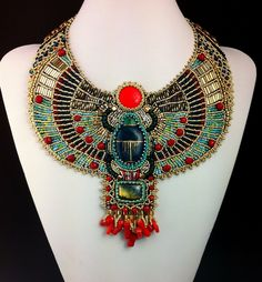 Sun Scarab Custom Made To Order Bead от LuxVivensFashion на Etsy