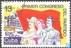 Postage Stamps - Cuba [CUB] - First Communist Party Congress
