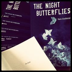 My first box of books - The Night Butterflies by Sara Litchfield www.authorsaralitchfield.com/books