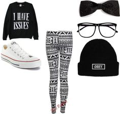 Hehehe, I have a lot of different outfits I like :3
