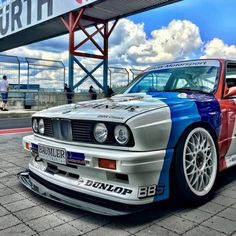 BMW back at the weekend at the in Rudskogen, Norway! Bmw E30 M3, Bmw Alpina, Bmw Classic Cars, Bmw 5 Series, Automobile, Bmw Cars, Courses, Dream Cars, Super Cars