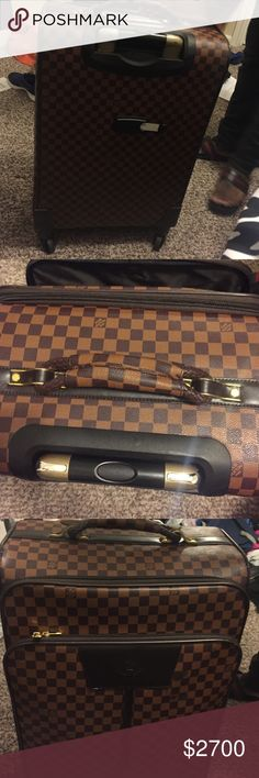 LV Luggage 💯Authentic Louis Vuitton luggage , No trade , Seriuos Inquires... Used , Great condition‼️ Louis Vuitton Other