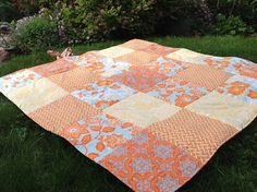 Waterproof Picnic Blanket created by Meadowlark Designs by Christine https://www.etsy.com/shop/MeadowlarkDesigns1?ref=hdr_shop_menu