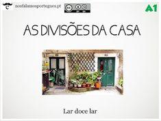 Atividade online para o nível A1: As divisões da casa.