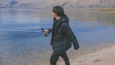 """ً on Twitter: """"camping trip with jungkook 🎣… """" Bts Bon Voyage, Winter Jackets, Camping, Winter Coats, Campsite, Winter Vest Outfits, Campers, Tent Camping, Rv Camping"""
