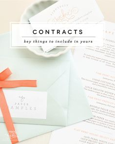 Paper Cuts: Key Things to Include in Your Client Contract - Sincerely, Jackie Blog - Lovely Heirloom Paper | Long Island Wedding Invitations by Sincerely, Jackie, Jackie