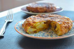 Tortilla de Patatas, aka Spanish Potato Omelet