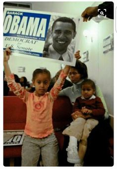 ~ WITH THE KIDS DURING HIS SENATE RACE, SO CUTE ~