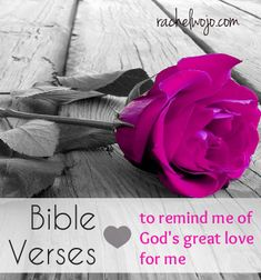 8 Bible verses to remind us of God's great love for us.