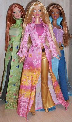 Charm Girls/Secret Spells Barbie by paddingtonrose, via Flickr