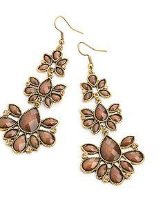 The Desert Rose Earrings by JewelMint.com, $29.99