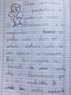 Quaderno di italiano classe 2^ La fiaba 3, Education, Words, Blog, Montessori, Alphabet, Blogging, Onderwijs, Learning