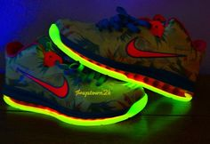 "Nike LeBron 9 Low ""LeBronold Palmer"" Glow In The Dark"
