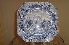 Vintage #johnson brothers #historic america #capitol plate,  View more on the LINK: http://www.zeppy.io/product/gb/2/281795763217/