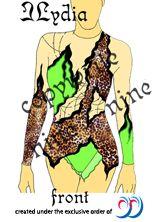 Leopard syle leotard