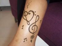 key at the bottom of the treble clef!