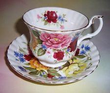 "Royal Albert Random Harvest Series "" Somerset "" Tea Cup and Saucer Set"
