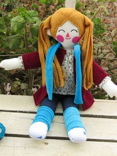 ** HECHO A MANO.CL **, rag doll