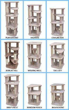 Plans To Make A Cat Tree. #cats #catscratchingpost