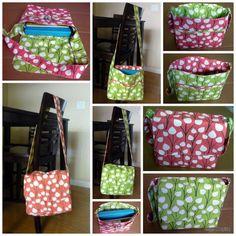 Messenger Bag - Free Sewing Tutorial