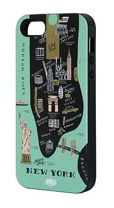 New York iPhone 5 Case by Rifle Paper Co.