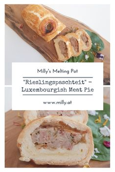 """One of m all-time favorite snacks is this luxembourgish meat pie - """"Rieslingspaschteit"""". It is a special meat pie filled with a tangy white wine aspic. Make Ahead Appetizers, Appetizers For Party, Appetizer Recipes, Snack Recipes, Snacks, Fall Recipes, Meat Recipes, Summer Recipes, Dry Soup Mix"""