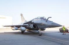 French Armée de l'Air Dassault Rafale B. B = Biplace - Two Seater.