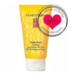 Elizabeth Arden 8 Horas Spf 50 Cara. Protector solar facial hidratante.
