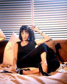 Uma Thurman as Mia Wallace in Pulp Fiction