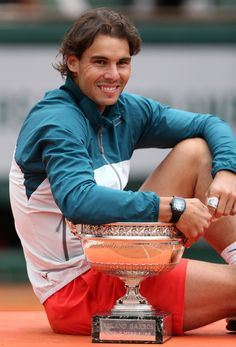 Rafael Nadal - Wins 2013 French Open - 8th time Champion!