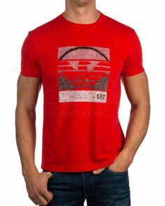 Camisetas Armani EA7 - Rojo