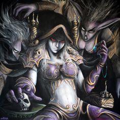 World of Warcraft -- Sylvanas. Unf.