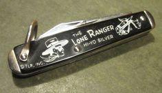 Vintage Silver Bullet Lone Ranger Comic Cowboy Camco Camillus USA Pocket Knife #Camco