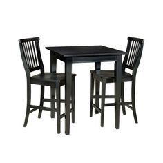 Thinking this Square Bistro Arts and Crafts Table set from Target would great for our new (small) apt.