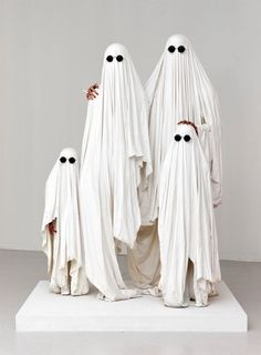 Family of ghosts.