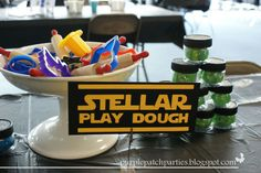 Activity for a Star Wars party #starwars #activities
