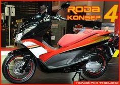 Honda PCX Thailand, 4 Wheel Concept Honda 125, Thailand, Concept