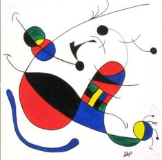 image Joan Miro Paintings, Abstract Art, Abstract Paintings, Banksy, Famous Artists, Oeuvre D'art, Animals Beautiful, Les Oeuvres, Art History
