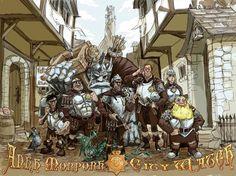 Ankh-Morpork City Watch by KGBigelow.deviantart.com on @deviantART