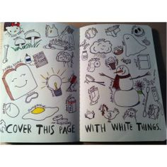 wreck this journal ideas | IDEAS FOR ''WRECK THIS JOURNAL'' | College life