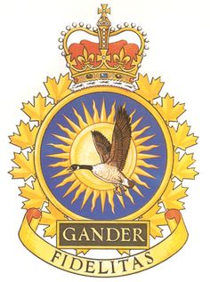 CFS GANDER Badge - The Canadian Navy - ReadyAyeReady.com