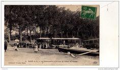 Arrivée du bateau de Nantes à Sucé sur Erdre, c.1900