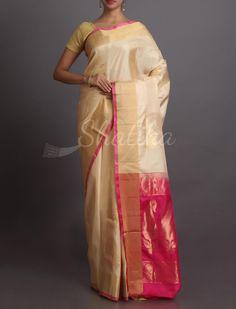 Navya Paisley Passion In Brocade Traditional #WeddingSilkSaree