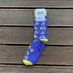Mens Athletic Cushion Crew Sock Whales Whale Repeat Navy Long Sock Funny