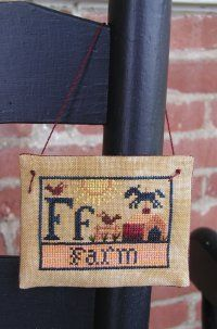 carriage house samplings alphabet sampler | Chart Price: $4.00