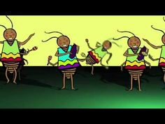 La Cucaracha (Lyrics in Spanish and English).  A silly video of this song, complete with dancing cockroaches!