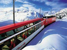 Glacier Express @ Switzerland